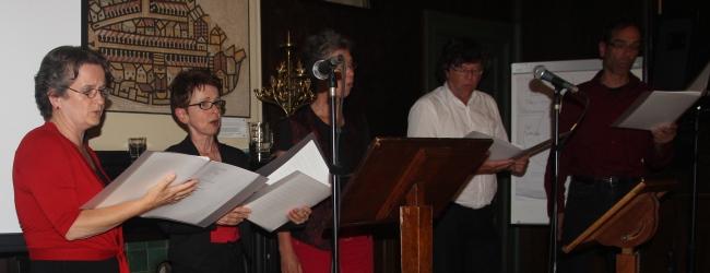Ad-hoc koor Dag van het Dagboek