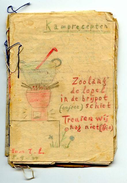kampreceptenboekje van Lizzy van Dorp