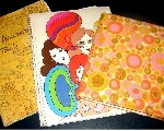 Kinder- en tienerdagboeken die de schrijfster tussen haar tiende en drieëntwintigste levensjaar heeft geschreven. Zij verbracht een deel van haar jeugd in Zwitserland en beschrijft in één van haar dagboeken onder meer hoe het er op school aan toeging. Een ander dagboek, geschreven op tienjarige leeftijd, gaat over een vakantiereis naar het buitenland. De dagboeken die geschreven zijn op tienerleeftijd zijn hier en daar geïllustreerd met pentekeningen. Tijdspanne: 1968 t/m 1982.